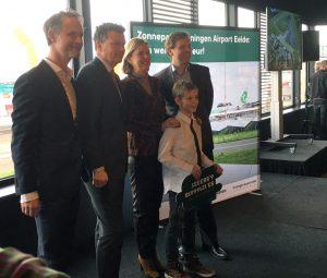 Opening Zonnepark Airport Eelde